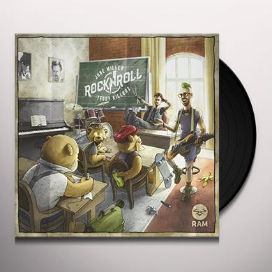June Miller / Teddy Killerz ROCK & ROLL / WILDFIRE Vinyl Record - UK Import