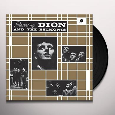 PRESENTING DION & THE BELMONTS + 2 BONUS TRACKS Vinyl Record