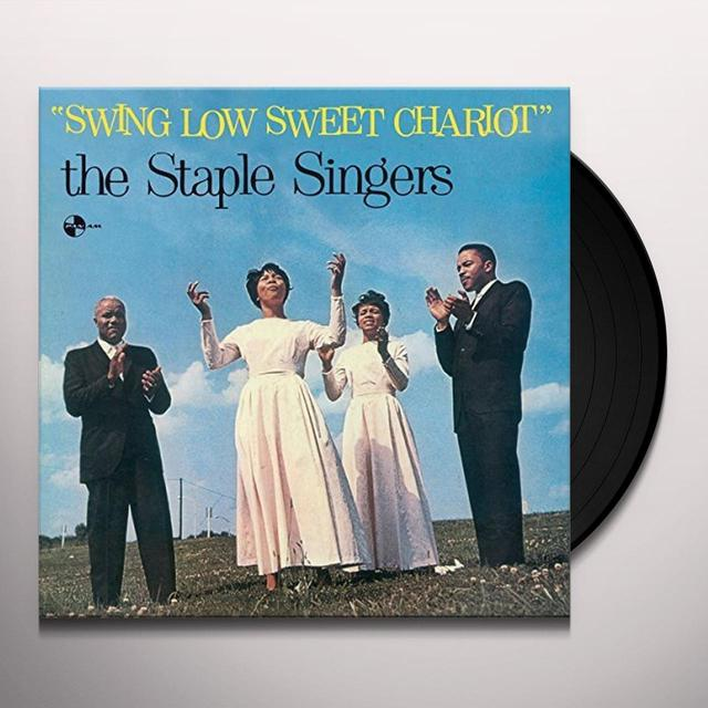 The Staple Singers SWING LOW SWEET CHARIOT + 2 BONUS TRACKS Vinyl Record