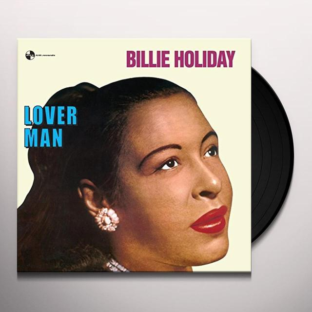 Billie Holiday LOVERMAN Vinyl Record