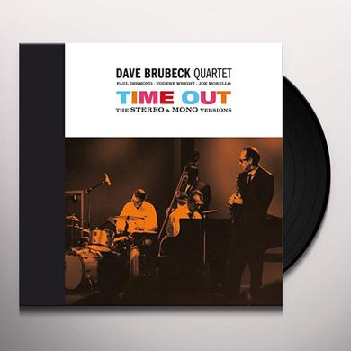 Dave Brubeck TIME OUT: STEREO & MONO VERSIONS - GATEFOLD Vinyl Record - 180 Gram Pressing