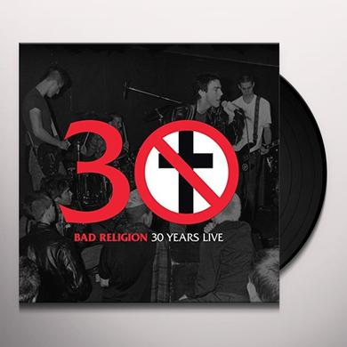 Bad Religion 30 YEARS LIVE Vinyl Record