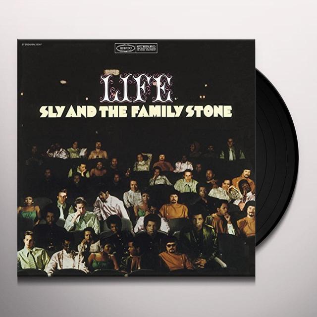 Sly & the Family Stone LIFE Vinyl Record - Holland Import
