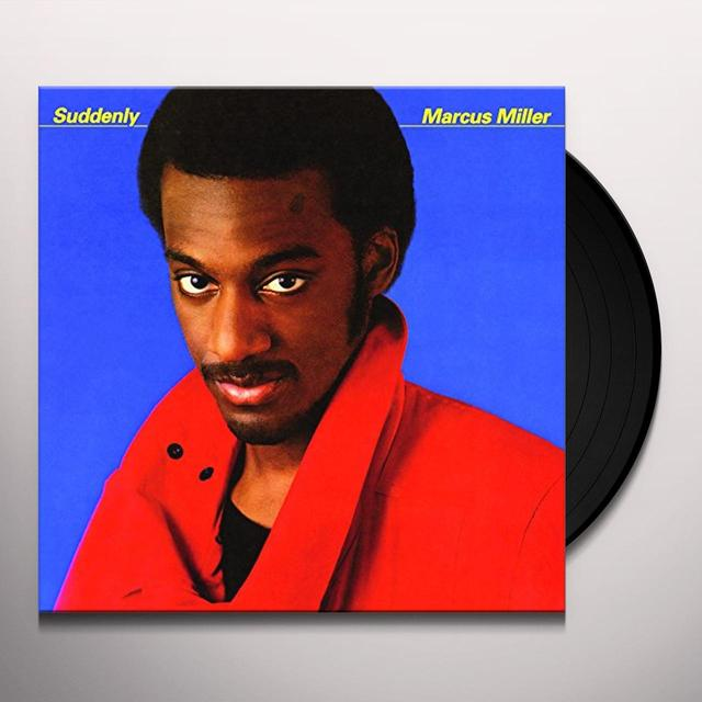 Marcus Miller SUDDENLY Vinyl Record - Holland Import