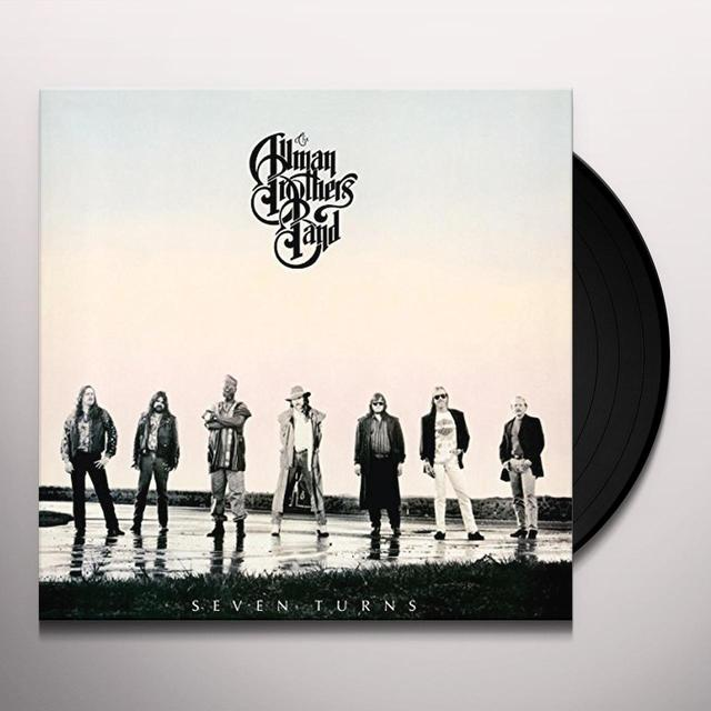 The Allman Brothers Band  SEVEN TURNS Vinyl Record