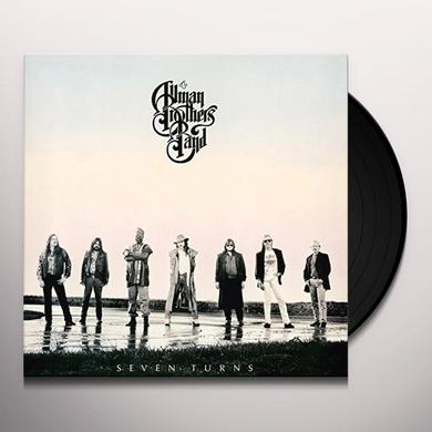 The Allman Brothers Band  SEVEN TURNS Vinyl Record - Holland Import
