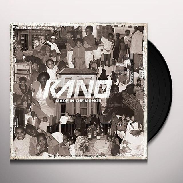 Kano MAN IN THE MANOR Vinyl Record