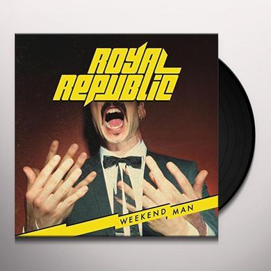 Royal Republic WEEKEND MAN Vinyl Record - UK Import