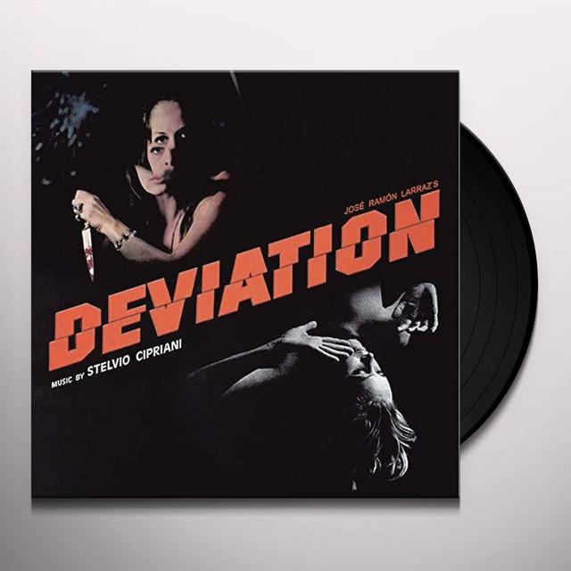 Stelvio Cipriani DEVIATION (TRANSPARENT VINYL) / O.S.T. Vinyl Record - 10 Inch Single