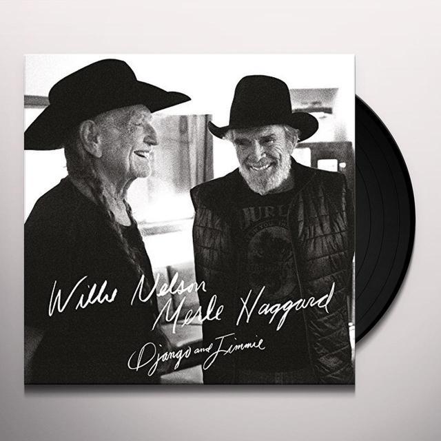 Willie Nelson / Merle Haggard DJANGO & JIMMIE Vinyl Record