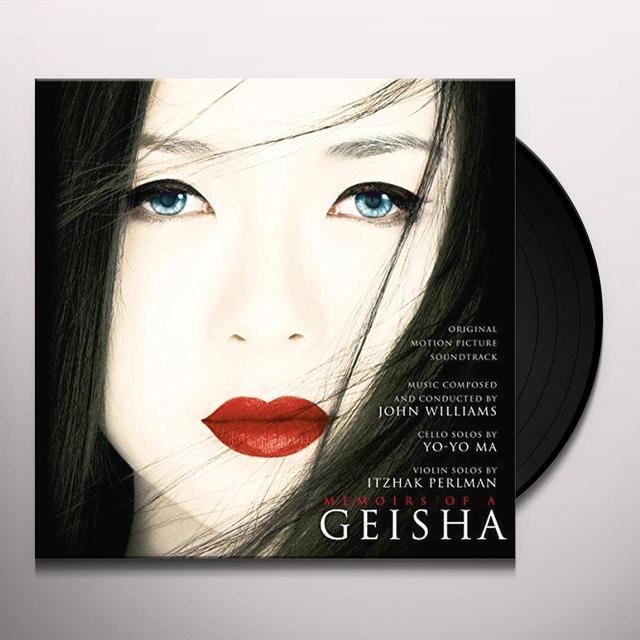 MEMOIRS OF A GEISHA / O.S.T. (HOL) MEMOIRS OF A GEISHA / O.S.T. Vinyl Record