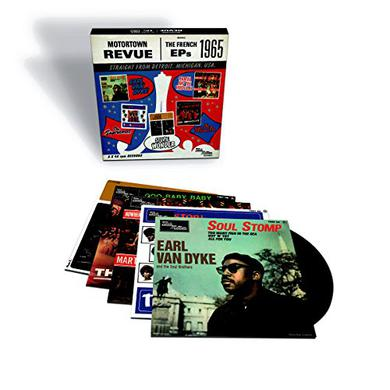 MOTORTOWN: FRENCH EPS / VARIOUS (BOX) (UK) MOTORTOWN: FRENCH EPS / VARIOUS Vinyl Record