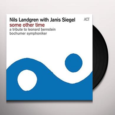 Nils Landgren / Janis Siegel / Bochumer Symphonike SOME OTHER TIME Vinyl Record - Australia Import
