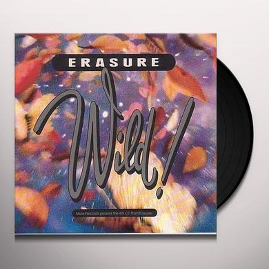 Erasure WILD Vinyl Record - UK Import