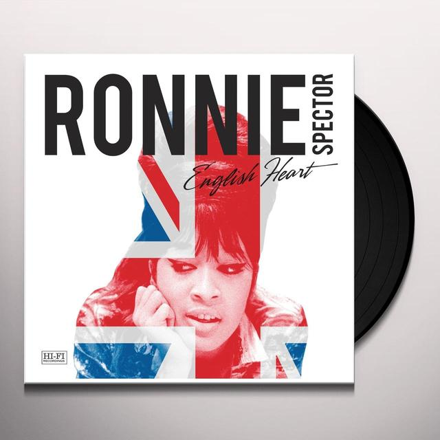 Ronnie Spector ENGLISH HEART Vinyl Record