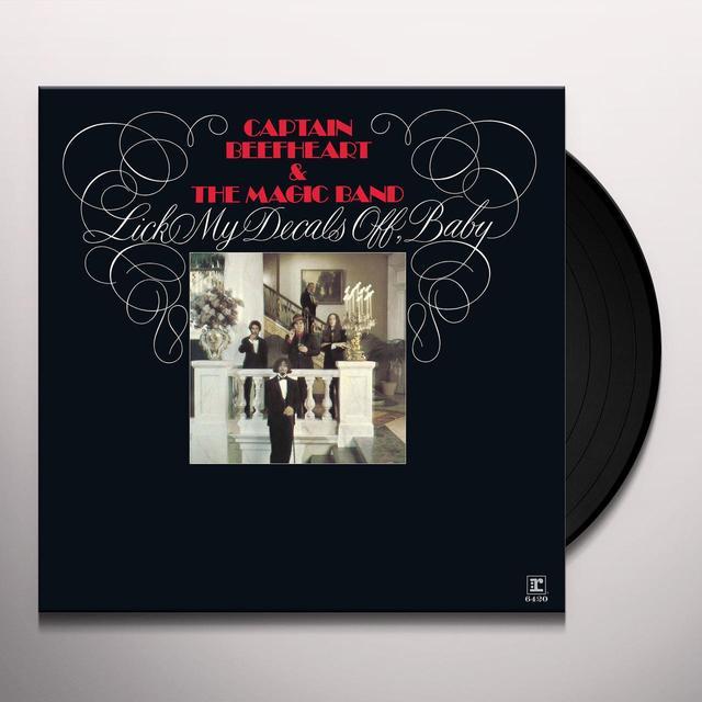 Captain Beefheart LICK MY DECALS OFF BABY Vinyl Record