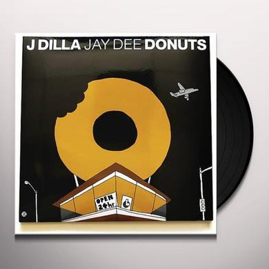 J Dilla DONUTS 10TH ANNIVERSARY Vinyl Record - Gatefold Sleeve