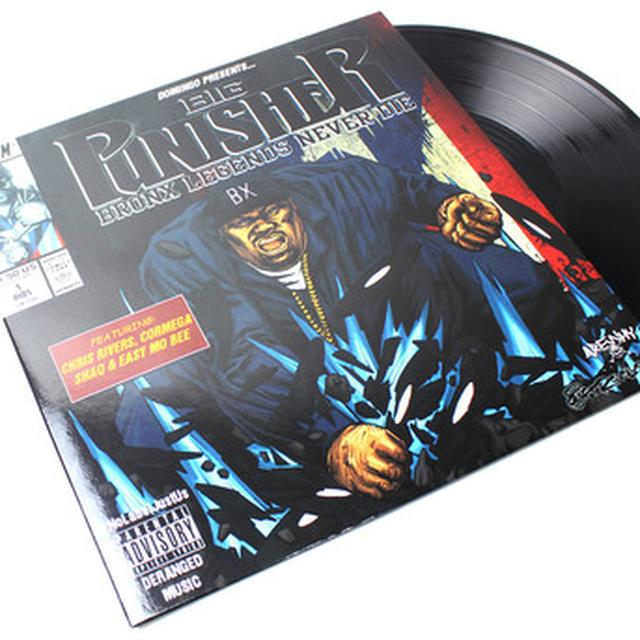 Big Punisher BRONX LEGENDS NEVER DIE Vinyl Record