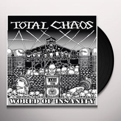 Total Chaos WORLD OF INSANITY Vinyl Record