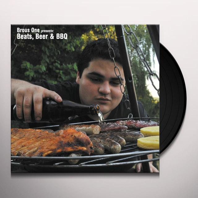BROUS ONE BEATS BEER & BBQ Vinyl Record