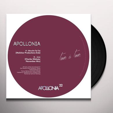 Apollonia TOUR A TOUR REMIXES 1 Vinyl Record