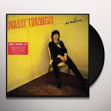 Johnny Thunders SO ALONE (REMARQUABLE) Vinyl Record - Remastered, Special Edition