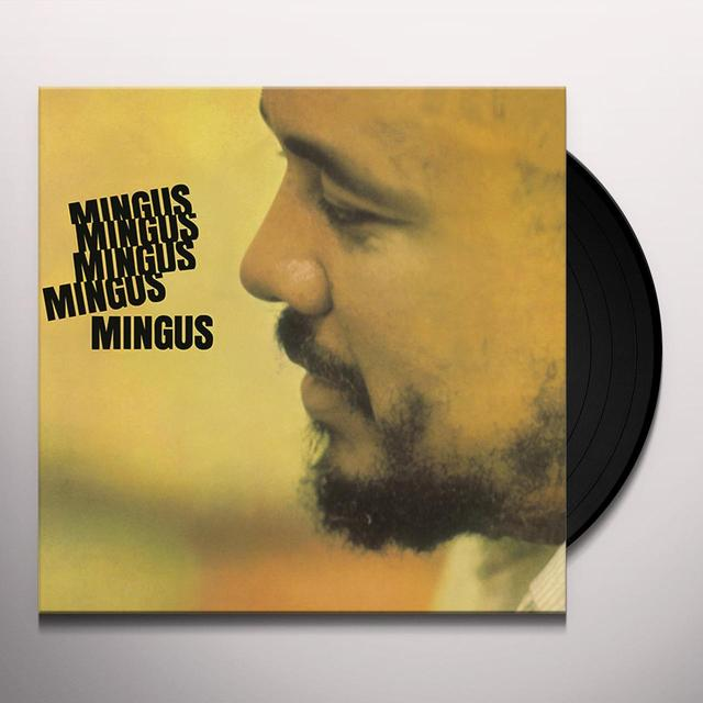 Charles Mingus MINGUS MINGUS MINGUS MINGUS MINGUS Vinyl Record