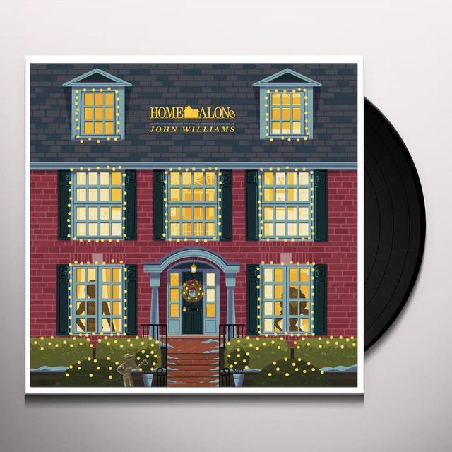 John Williams HOME ALONE / O.S.T. Vinyl Record - Gatefold Sleeve