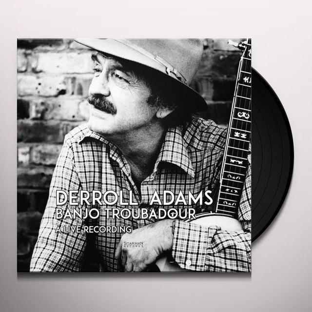 Derroll Adams BANJO TRUBADOR Vinyl Record