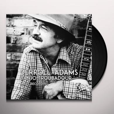 Derroll Adams BANJO TRUBADOR Vinyl Record - w/CD, Gatefold Sleeve, 180 Gram Pressing