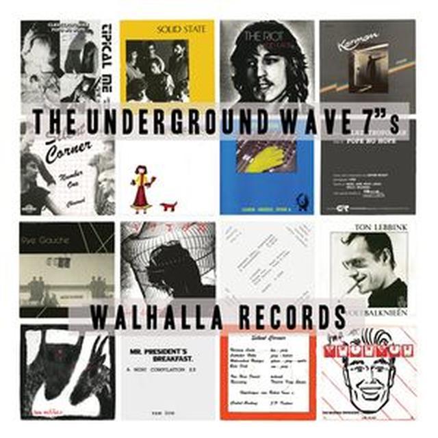 UNDERGROUND WAVE 7'S / VARIOUS (OGV) UNDERGROUND WAVE 7'S / VARIOUS Vinyl Record - 180 Gram Pressing