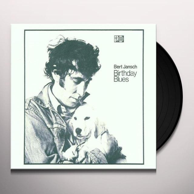 Bert Jansch BIRTHDAY BLUES Vinyl Record