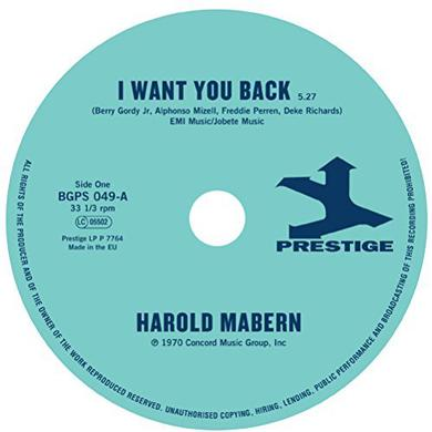 Harold Mabern / Funk Inc I WANT YOU BACK / SISTER JANIE Vinyl Record