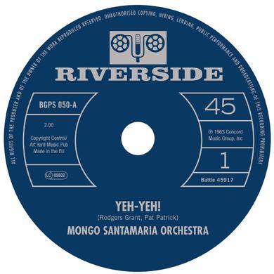 Mongo Orchestra Santamaria YEH-YEH! / GET THE MONEY Vinyl Record