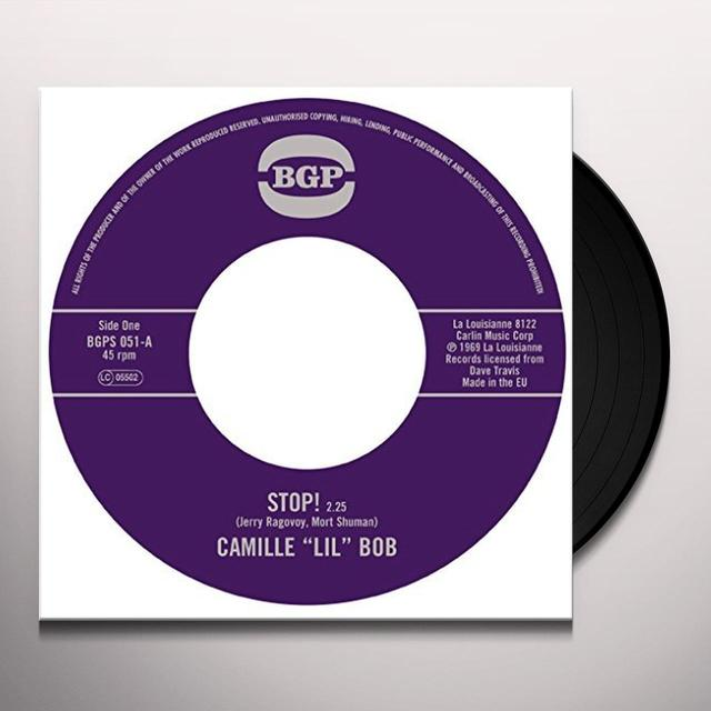 Lil Bob Camille STOP! / BROTHER BROWN Vinyl Record