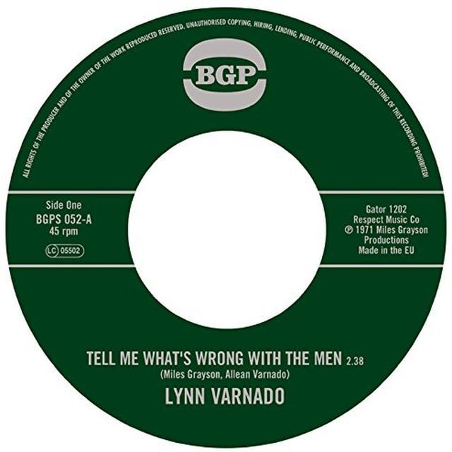 Lynn Varnado TELL ME WHAT'S WRONG WITH THE MEN / STAYING AT Vinyl Record