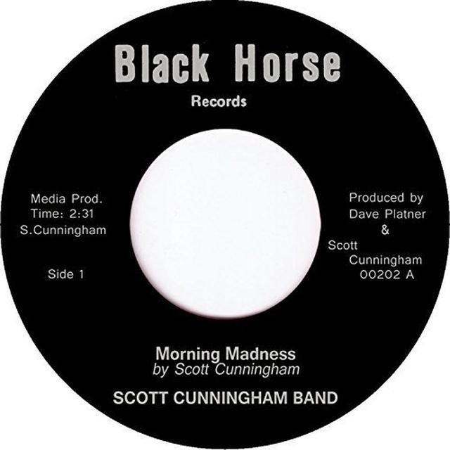 Scott Cunningham MORNING MADNESS Vinyl Record