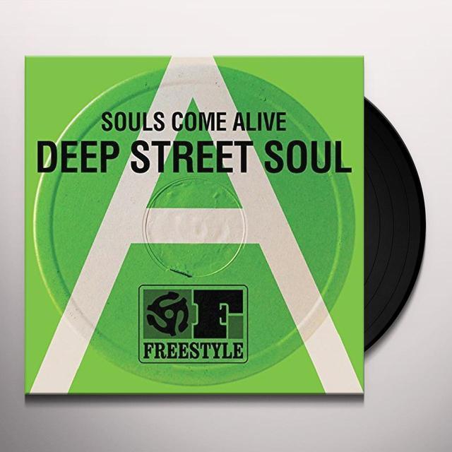 Deep Street Soul SOULS COME ALIVE Vinyl Record - UK Import