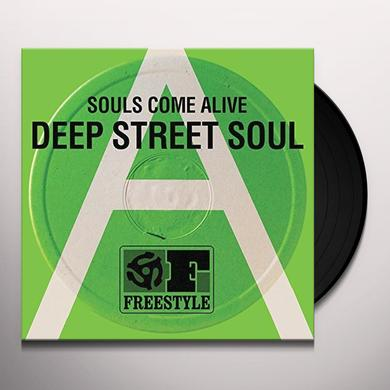 Deep Street Soul SOULS COME ALIVE Vinyl Record - UK Import