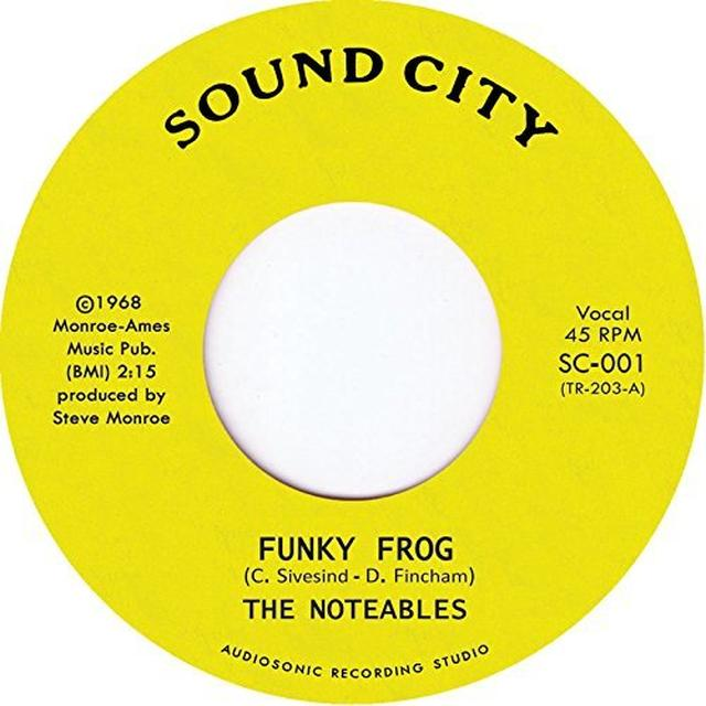 NOTEABLE FUNKY FROG Vinyl Record