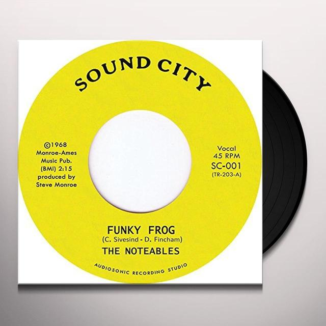 NOTEABLE FUNKY FROG Vinyl Record - UK Import