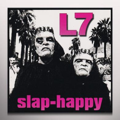 L7 SLAP-HAPPY Vinyl Record - Colored Vinyl, Limited Edition, Reissue
