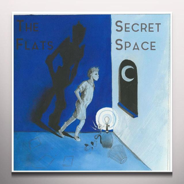 SECRET SPACE / THE FLATS SPLIT Vinyl Record - Colored Vinyl, Digital Download Included