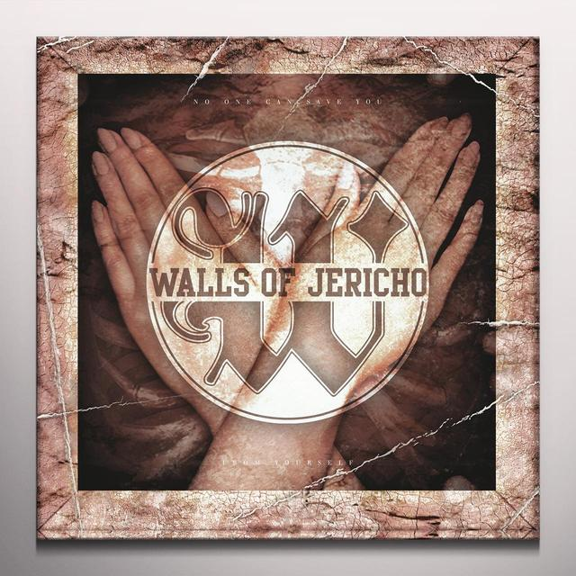 Walls Of Jericho NO ONE CAN SAVE YOU FROM YOURSELF Vinyl Record - Colored Vinyl, Limited Edition