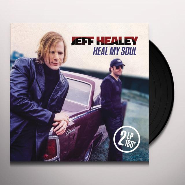 Jeff Healey HEAL MY SOUL Vinyl Record - 180 Gram Pressing, Digital Download Included