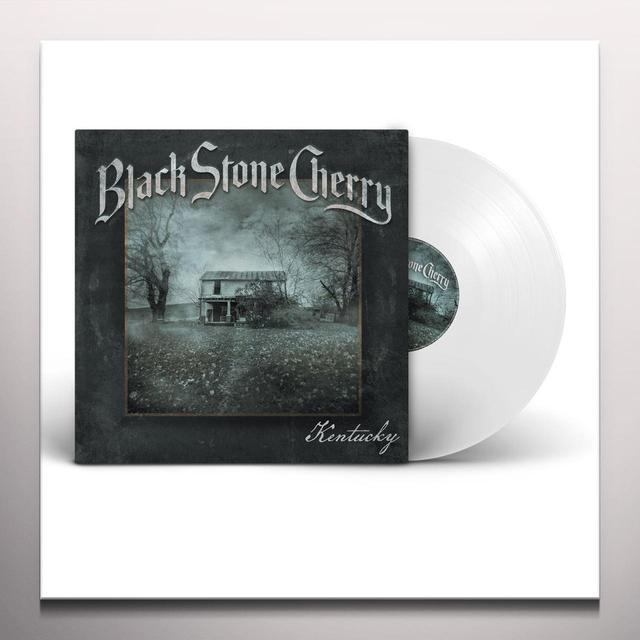 Black Stone Cherry KENTUCKY Vinyl Record - Colored Vinyl, 180 Gram Pressing, White Vinyl, Digital Download Included