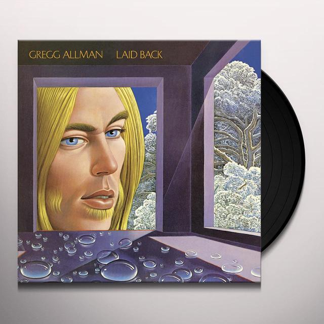 Gregg Allman LAID BACK Vinyl Record - 200 Gram Edition
