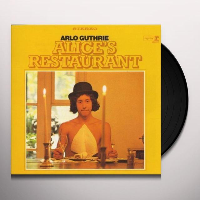 Arlo Guthrie ALICE'S RESTAURANT Vinyl Record - 180 Gram Pressing