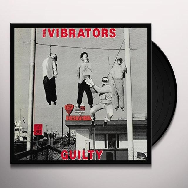 The Vibrators GUILTY Vinyl Record