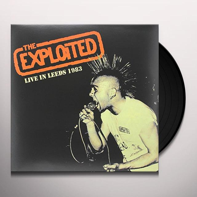 The Exploited LIVE IN LEEDS 1983 Vinyl Record